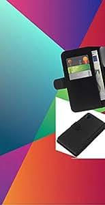 All Phone Most Case / Oferta Especial Cáscara Funda de cuero Monedero Cubierta de proteccion Caso / Wallet Case for Sony Xperia Z2 D6502 // Rainbow Geometry