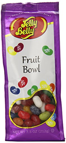 Jelly Belly Candy Gift Bag, Fruit Bowl ()