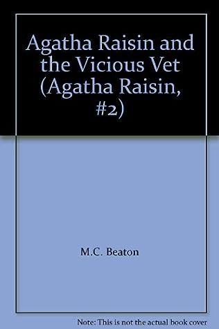 book cover of Agatha Raisin and the Vicious Vet