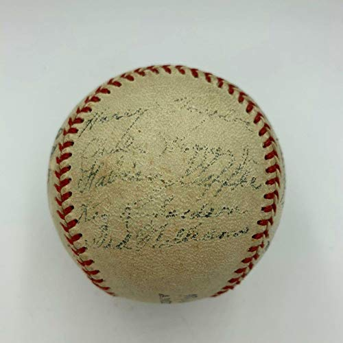 Ted Williams Pre Rookie 1938 Minneapolis Millers Team Signed Baseball COA - JSA Certified - Autographed ()