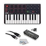 Akai Professional MPK MINI MK2 MKII | 25-Key Ultra-Portable USB MIDI Drum Pad & Keyboard Controller...