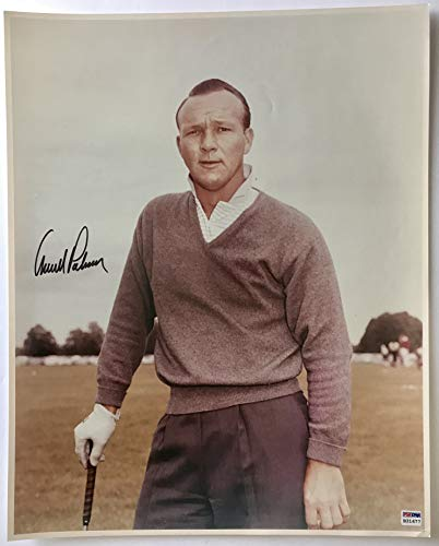 Arnold Palmer signed photo Masters golf 16x20 inch large vintage image psa dna loa - Palmer Arnold Photo Signed