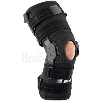 2023f92fa1 Breg Roadrunner Hinged Knee Brace (Large Wraparound Neoprene Open Back)
