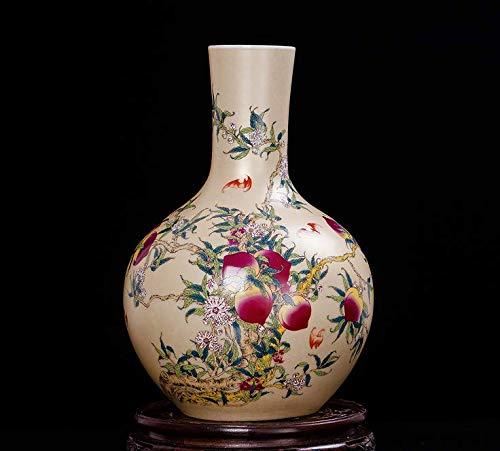 (Yuyi Porcelain Vase 13.5