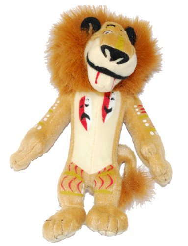 "Madagascar 2 Rite of Passage Alex the Lion 7"" Plush"