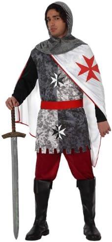 Atosa - Disfraz de caballero medieval para hombre, talla 52-54 ...