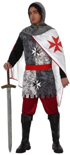 Atosa - Disfraz de caballero medieval para hombre, talla 52-54 (12037)