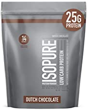 Isopure with Coffee, Vitamin C and Zinc for Immune Support, 25g Protein, Keto Friendly Protein Powder