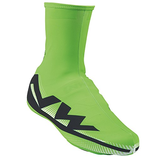 Northwave Extreme Graphic Shoecover, Green Fluo. Extreme Graphic Shoecove, XL, Green Fluo. by Northwave