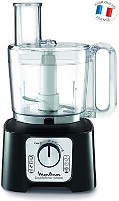 Moulinex FP546810 Robot de cocina 800 W 2 en 1, compacto con 6 ...