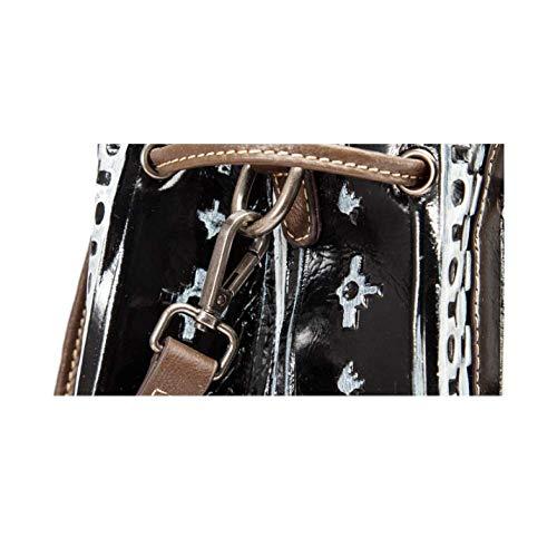 Main Polyvalent Main De Rétro Silver Capacité à Sac élégant Grande Fait AJLBT à La Sac Style Dames Simple 16xqzAF