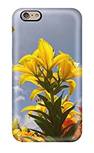 Hot ZIkCWjL8224RzFxV Case Cover Protector For Iphone 6- Lily Flowers