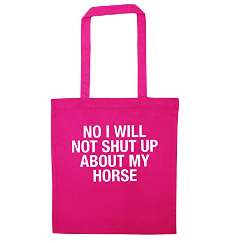 bag horse shut up I tote Pink will my No about not HwPSUWqzq