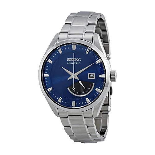- Seiko Men's SRN047P1 Kinetic Blue Watch