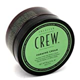 American Crew Forming Cream, Strong Hold and Natural Shine 105 ml (3-Pack) with Free Nail File