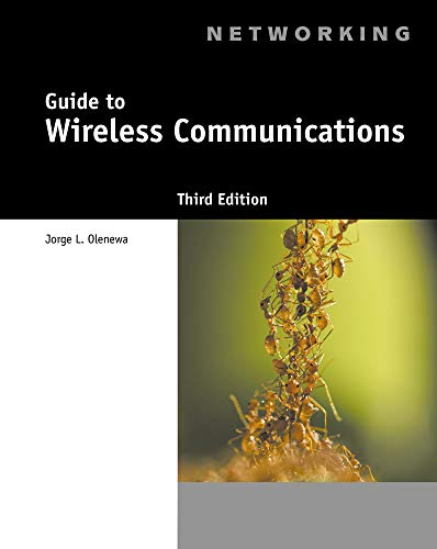 - Guide to Wireless Communications