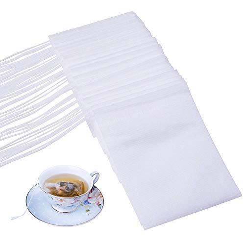 Disposable Empty Tea Bags, Filter Bags for Loose Tea 300 PCS