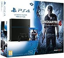 PlayStation 4 (PS4) - Consola 1 Tera + Uncharted 4