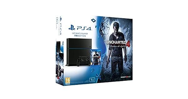 PlayStation 4 - Consola 1 TB + Uncharted 4: Amazon.es: Videojuegos
