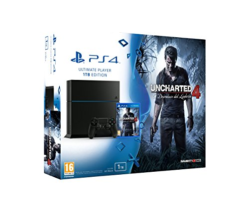 PlayStation 4 – Consola 1 TB + Uncharted 4