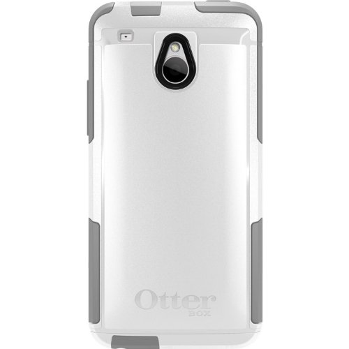 OtterBox Commuter Series Case for HTC One Mini - Retail Packaging - White/Gray (Discontinued by Manufacturer)