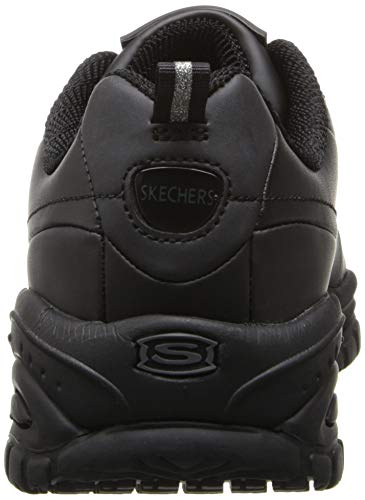 Skechers nero Work For M up Us 5 softie Women's Soft Stride Lace rr7wS6qc