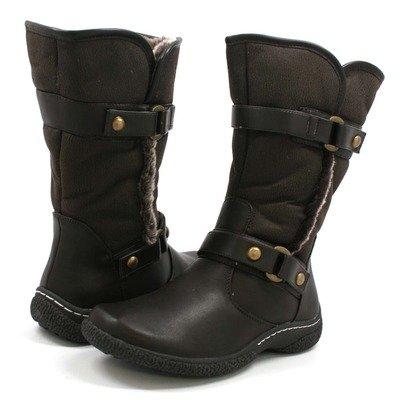 Wanderlust Women's Gabi T13719 Fur Boots Brown 10W