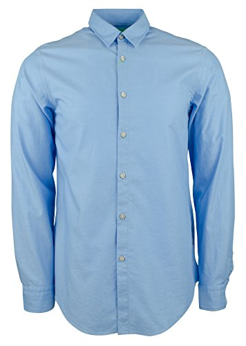 Hugo Boss Men's Green Label C-Bustai Regular Fit Patterned Shirt-B-XL by Hugo Boss