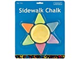 Sunshine Shaped Sidewalk Chalk - Pack of 80