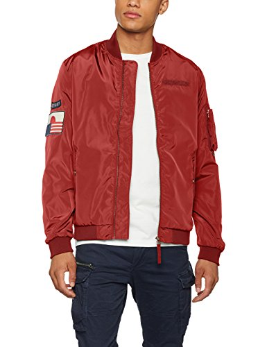 Jack Jones Bomber Jorpowell Rosso Jacket Giacca amp; rosewood Uomo aqvawAgn