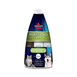 Specialized cleaning solution to help eliminate odors while cleaning pet messes.