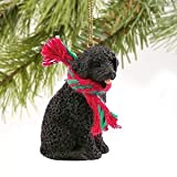 Portuguese Water Dog Miniature Ornament