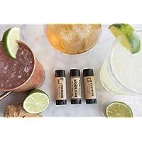 Stocking Stuffer - Foodie gift -Bourbon Lover Gift Cocktail Lip Balm Trio