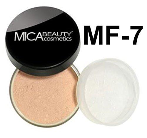 7 Mineral Lipstick - Bundle 2 Items: Mica Beauty Mineral Foundation 9 Gram + Itay Mineral Cosmetics Lipstick Assorted Colors (MF-7 Lady Godiva)