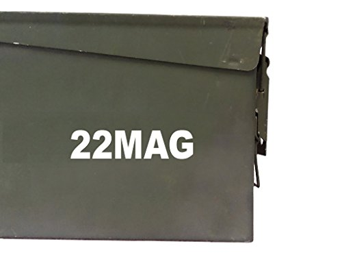 FGD 22MAG Ammo Box Decal Sticker Label Set Two 6