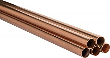 Kupferrohr Stange Kupfer Rohr 15 18 22 28 35 mm RAL DVGW