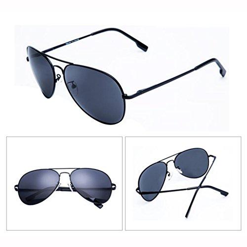 nuevas de Sunglasses Hiker Gafas Gafas para Opcional sol Gafas negras Gafas de Driving UV Protección sol de Outdoor UV400 Sports Visor de Regalos sol sol Personalidad Gray Black D Frame; Gafas Sun hombre sol de colores 5 qIZtZTw