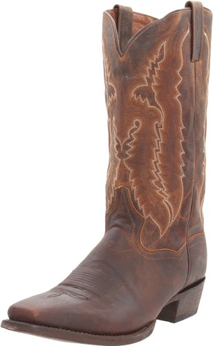 Dan Post Earp Men's Dark Brown Leather Boots 9 D