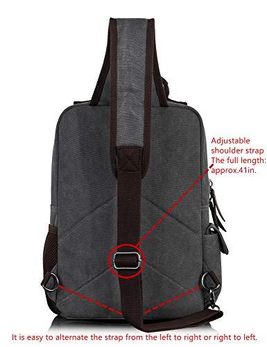 ad3a5e9f2 Leaper Canvas Messenger Bag Sling Bag Cross Body Bag Shoulder Bag Army Green