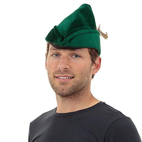 Bristol Novelty BH531 Robin Hood Hat Soft Felt, One Size -