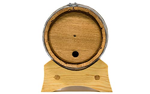 small oak cask