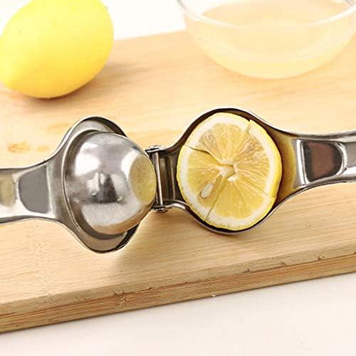 fgyhty Acero Inoxidable Manual de Prensa de la Mano del exprimidor de limón Exprimidor cítricos de Naranjas Jugo de Herramientas