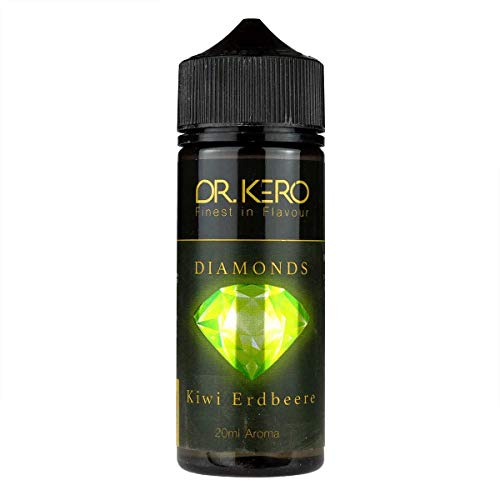Dr. Kero Aromakonzentrat Diamonds – Kiwi Erdbeere, Shake-und-Vape zum Mischen mit Basisliquid für e-Liquid, 0.0 mg…