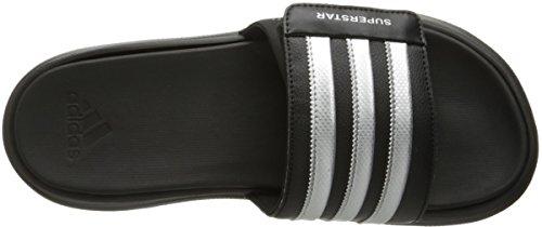 adidas Performance Herren Superstar 4g Athletic Sandale Schwarz / Metallic Silber / Schwarz
