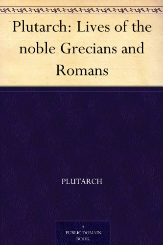 Image result for plutarch's lives book