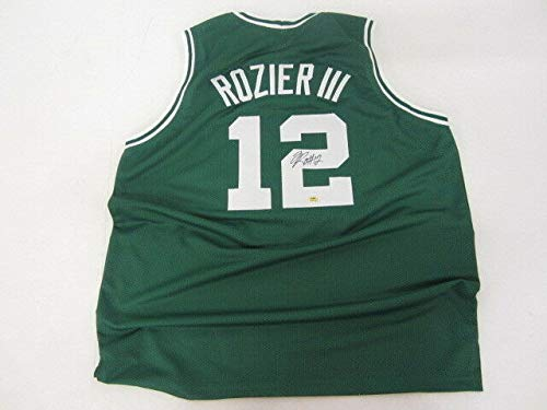 Terry Rozier Autographed Signed Memorabilia Celtics Jersey/Boston 1St Round Pick 2015 NBA Draft/Coa - Certified Authentic