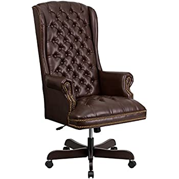 Amazon Com Coaster Traditional Executive Office Chair