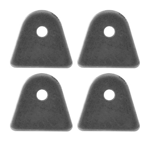 Allstar ALL60012 1-7/16'' Tall 1/8'' Thick 1/4'' Hole 7/8'' Mild Steel Center Hole Height Flat Chassis Tab, (Pack of 4) by Allstar