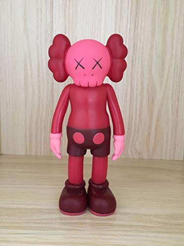FidgetGear 1pc 8 Inch Originalfake KAWS Dissected Companion Figure Without Original Box Red from FidgetGear