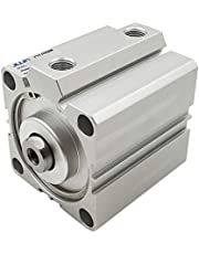yotijar NEW Pneumatic Double Acting Cylinder SDA - Silver, SDA20-60